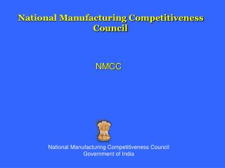 National Manufacturing Competitiveness Council
