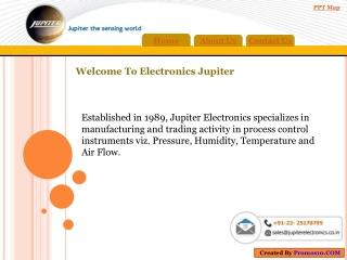 Pressure transmitter | Digital pressure gauge | Jupiter Elec