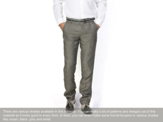 Linen clothes for 2103