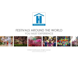 Festivals Arround The World