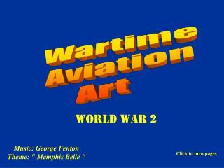 Wartime Aviation Art