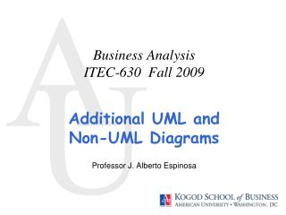 Business Analysis ITEC-630  Fall 2009