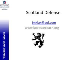 Scotland Defense