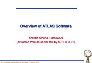 Overview of ATLAS Software