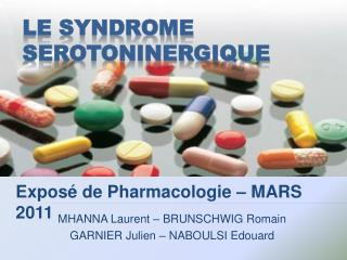 Le syndrome s