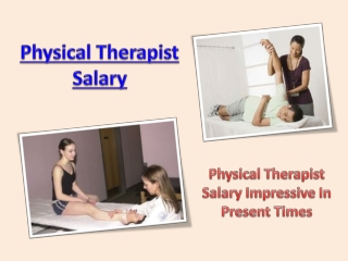 Physical Therapist Salary