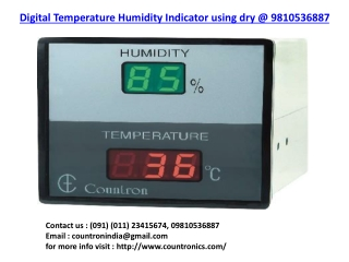 Humidity Controller