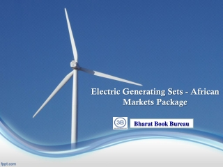 Electric Generating Sets - African Markets Package