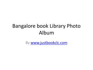 book libray in bangalore
