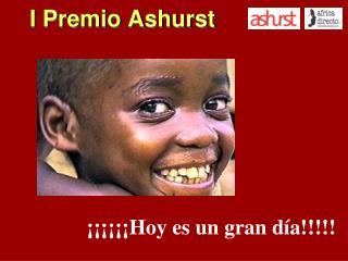 I Premio Ashurst
