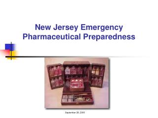 New Jersey Emergency Pharmaceutical Preparedness