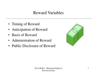 Reward Variables