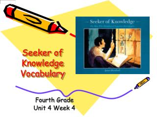 Seeker of Knowledge Vocabulary