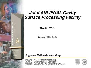 Joint ANLFNAL Cavity Surface Processing Facility