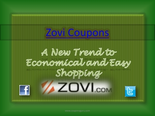 A New Trend to Economical and Easy Shopping