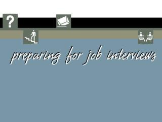 Job Interviews - weecourse