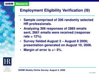 Employment Eligibility Verification I9