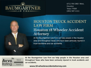 Houston Big Rig Accident Attorneys