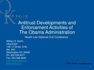 What Makes Antitrust Difficult