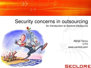 Seclore InfoSource - Security Concerns in Outsourcing