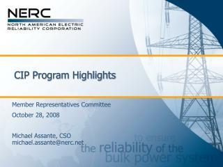 CIP Program Highlights