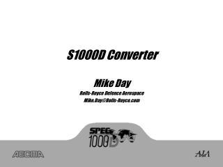 S1000D Converter