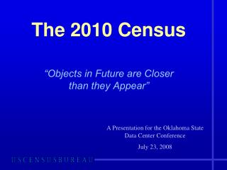 The 2010 Census