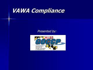 VAWA Compliance