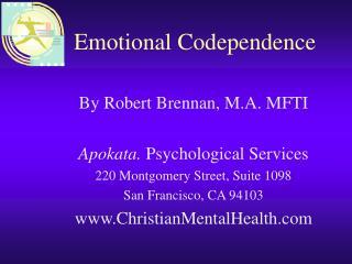 Emotional Codependence