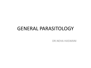 Parasitology