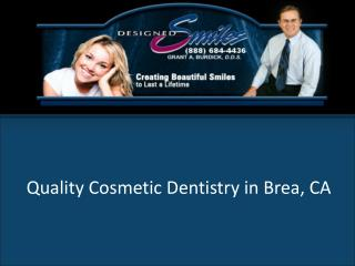 Designed Smiles - Orange County Cosmetic Dentist