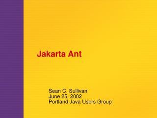Jakarta Ant