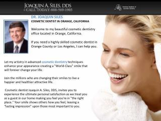 Siles Smile - Newport Beach Dental Implants
