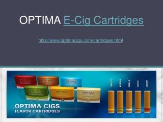OPTIMA E-Cig Cartridges