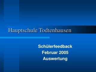 Hauptschule Todtenhausen