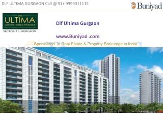 Dlf Ultima - Dlf Ultima Sector 81 Gurgaon - Buniyad