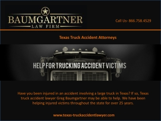 Texas 18 Wheeler Accident Attorney