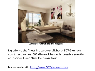507 glenrock apartments, luxurious apartment homes