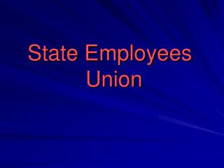 State workers union