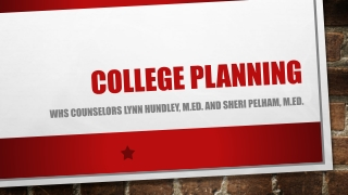 Applying to a Foundation School and planning your career