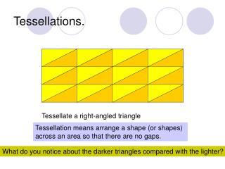 Tessellations.