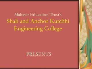 Mahavir Education Trust