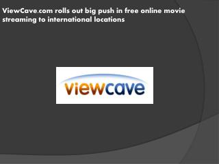 ViewCave.com rolls out big push in free online movie streami