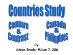 Compare Contrast Countries - Slide 1