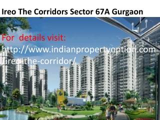 Ireo The Corridors Sector 67A Gurgaon