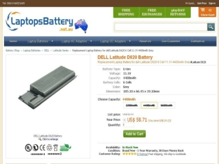 An Overview of Dell Latitude D620 Battery and Adapter