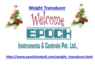 weight Transducer