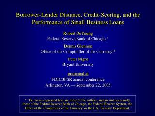 Data: SBA 7a Loans