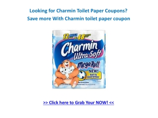 Free Charmin Toilet Paper