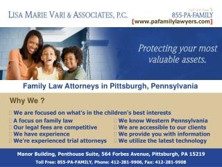 Child Support Attorneys Pennsylvania